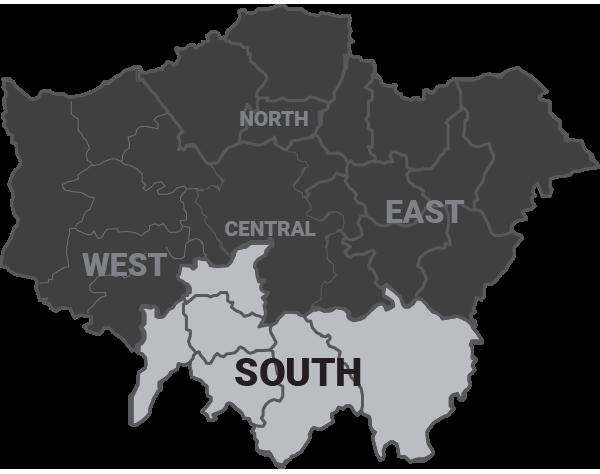 man and van south london